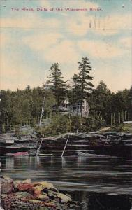 Wisconsin Milwaukee The Pines Dells Of The Wisconsin River 1912