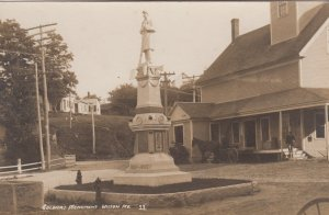 RP; WILTON  , Maine , 1900-10s ; Soldiers monument