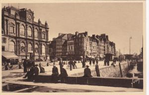 LE HAVRE, Seine Maritime, France, 1900-1910's; Le Musee Et Le Quai Southampton