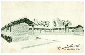 Florida  New Smtrna Beach , Ward Motel