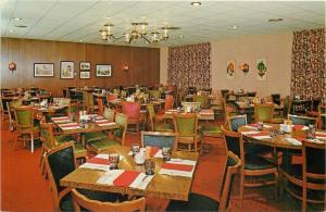 Jacksonville Arkansas~Armour's Flame Restaurant~Paneled~Ramada Inn Hotel~1960