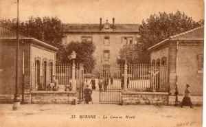 WW1 Roanne La Caserne werle 01.33