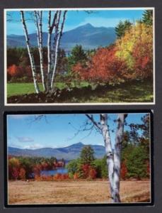 NH Lot 2 Mt Chocorua ALBANY NEW HAMPSHIRE Postcards PC
