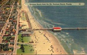 Florida Daytona Beach Aerial View