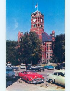 Pre-1980 OLD CARS AT COURT HOUSE Bryan Ohio OH d2788