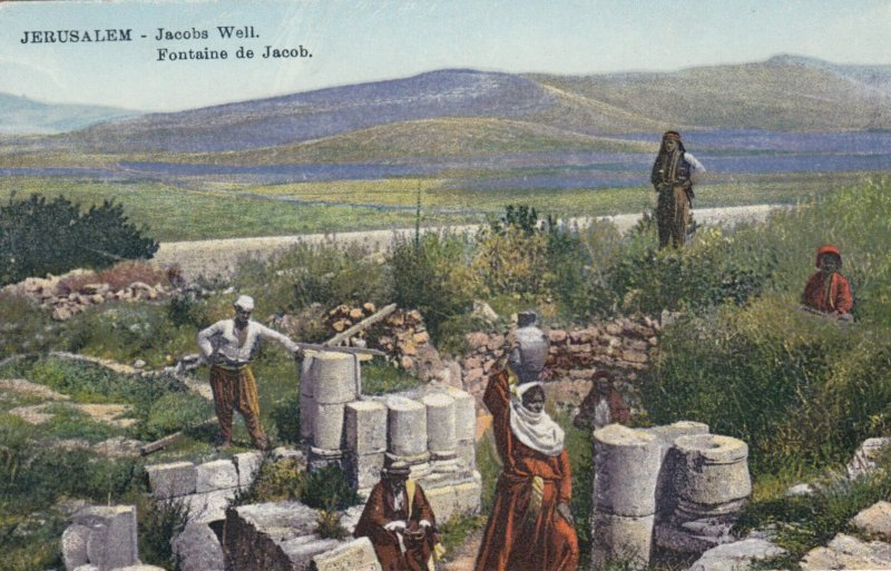 JERUSALEM , Israel , 00-10s ; Jacobs Well