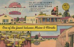 PORTSMOUTH, Virginia, 1930-40s; Sunset Manor & Restaurant