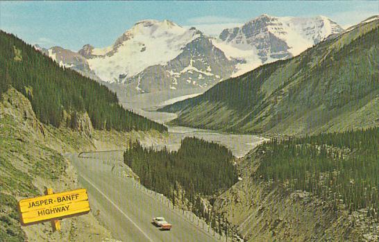 Jasper-Banff Highway Alberta Canada