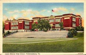 Virginia Fredericksburg James Monroe High School 1941 Curteich