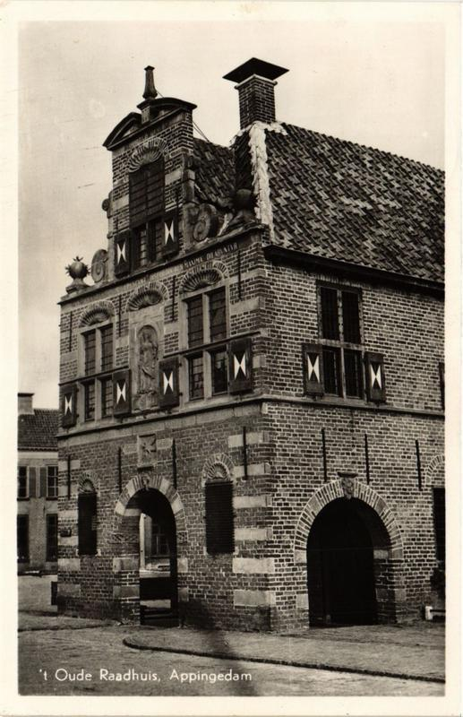 CPA Appingedam Oude Raadhuis NETHERLANDS (728352)