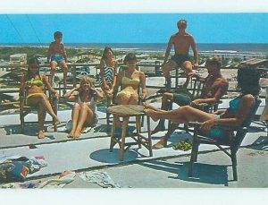 Pre-1980 CAMP SCENE St. Augustine Florida FL AE3287