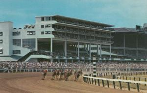 OCEANPORT, New Jersey, 40-60s;  Monmouth Park, Horse Racing