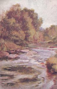 Autumn Scene of Stream, Canada, 00-10s