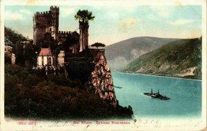 CPA AK Schloss Rheinstein GERMANY (1011585)