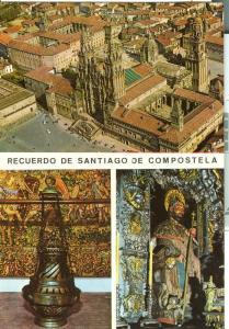 Spain, Santiago de Compostela, unused Postcard