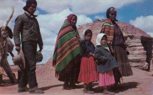 Navajo Indian Family , 1950-60s