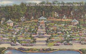 Sarah P. Duke Memorial Gardens, Duke University, Durham, North Carolina, 1930...