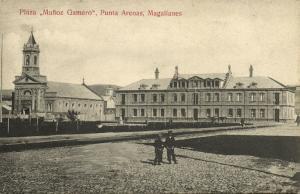 chile, PUNTA ARENAS, Magallanes, Plaza Muñoz Gamero (1910s)
