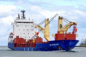 ap0806 - Netherlands Antille Cargo Ship - BBC Greenland , built 2007 - photo 6x4