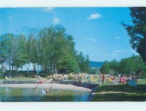 Pre-1980 TOWN VIEW SCENE St. Saint Jovite Quebec QC p9672