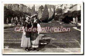 Old Postcard Menton Holidays From Lemon