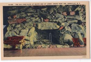 Fireplace, Grove Park Inn, Asheville NC