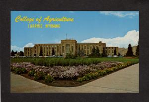 WY University of Wyoming College of Agriculture Laramie Postcard
