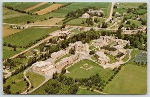 Mount Calvary Wisconsin~St Lawrence Seminary Birdseye~Baseball Diamond~1979