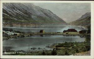 Bennett Lake Yukon Territory Real Photo Postcard