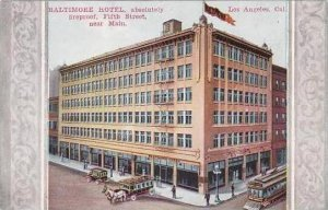 California Los Angeles Baltimore Hotel