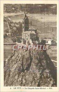 Old Postcard Le Puy La Chapelle Saint Michel