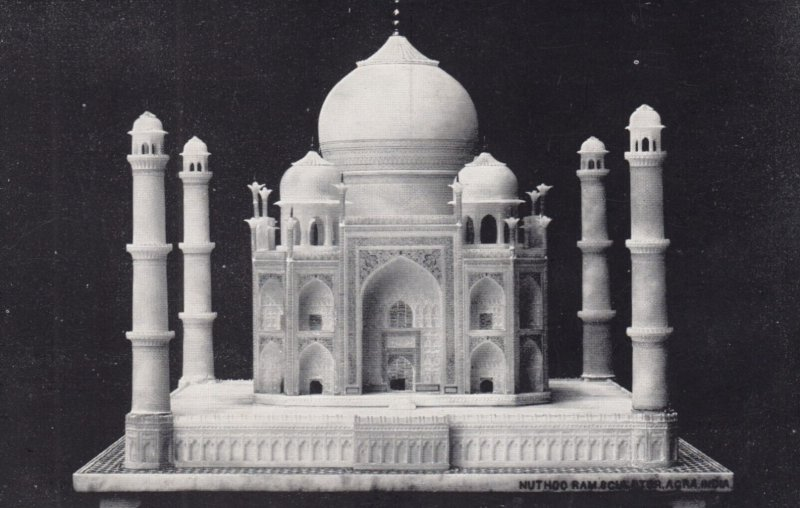 Alabaster Model of the Taj Mahal , 1930s