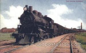 The limited Express Train Trains Locomotive, Steam Engine,  Postcard Postcard...