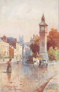 TUCK #7075, The Square, Barnstaple, Devon, England, UK, 1900-1910s