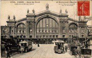 CPA PARIS 10e Gare du Nord Bd Denain (970556)