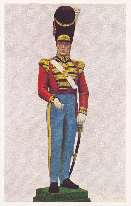 EDINBURGH, Scotland, 1900-1910's; Field Officer, 21st Royal Scots Fusiliers