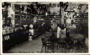 Buena Park CA Knott's Berry Farm General Store Interior Real Photo Postcard
