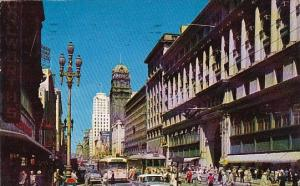 Famed Market Street San Francisco Carolina 1953