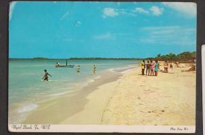 Negril Beach, Jamaica, West Indies - Used 1982 - Corner Creases