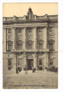 Palacio Real: Puerta Del Principe, Madrid, Spain, 1900-1910s