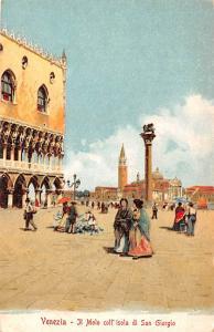 Ti Molo Italy Postcard Venezia Ti Molo