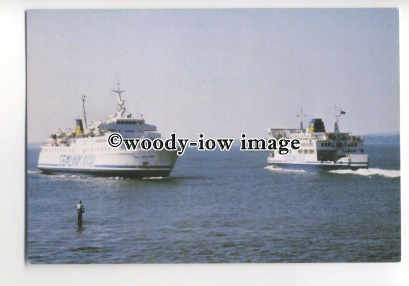 FE0396 - Sealink British Ferries Ferry - Earl William , built 1964 - postcard