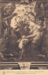 Belgium Anvers Eglise St Jacques Rubens la familie de l'artiste