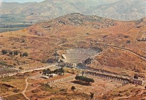 Turkiye Turkey Izmir Efes Ephesus, Agora and Great theatre