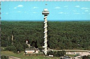 Chrome TOWER SCENE Hill Island - Near Ivy Lea & Kingston Ontario ON AH8863