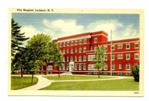 NY - Lockport. City Hospital