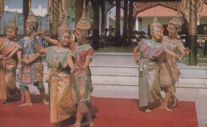 Bangkok Thailand Classical Dance Postcard