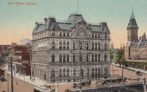 OTTAWA, Ontario, Canada, 1900-1910's; Post Office