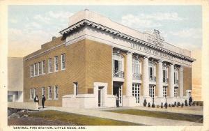 Little Rock Arkansas~Firemen @ Beaux Arts Central Fire Station 1916
