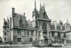 France la facade principale du palais jacques coeur architecture  Postcard